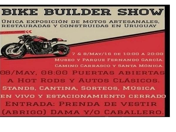 Afiche de Bike Builder Show 2016